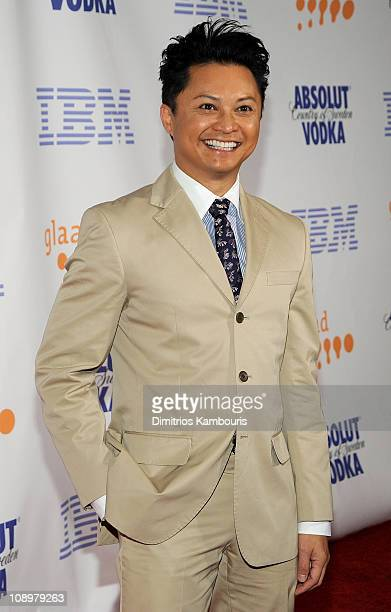 Actor Alec Mapa attends the 19th Annual GLAAD Media Awards at the Marriott Marquis on March 17 2008 in New York City