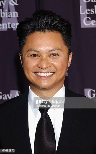 Actor Alec Mapa attends the LA Gay and Lesbian Center's 33rd Aniversary and Auction at the Westin Century Plaza Hotel on November 6 2004 in Century...