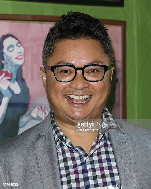 Actor Alec Mapa attends the reading and QA of I Blame Dennis Hopper at Samuel French Film And Theatre Bookshop on January 30 2016 in Los Angeles...