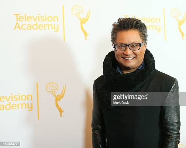 Actor Alec Mapa attends the Television Academy Presents An Evening With 'The Fosters' held at the El Portal Theatre on December 15 2014 in North...