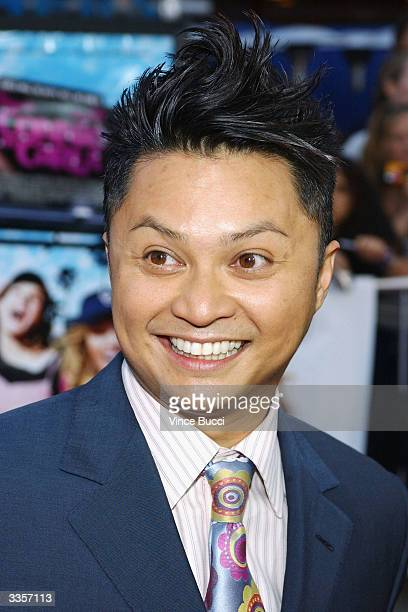 Actor Alec Mapa attends the world premiere of the film Connie and Carla at the Universal Studios Cinema April 13 2004 in Universal City California