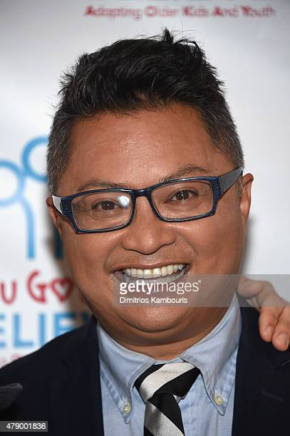 Actor Alec Mapa attends Voices For The Voiceless Stars For Foster Kids at St James Theater on June 29 2015 in New York City