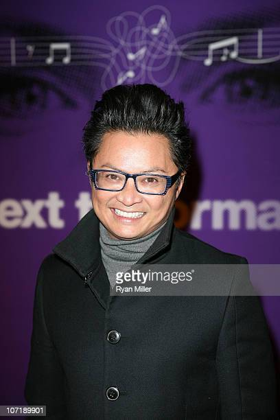 Actor Alec Mapa poses during the arrivals for the opening night launch of the National Tour of Next to Normal at the Center Theatre Group's Ahmanson...