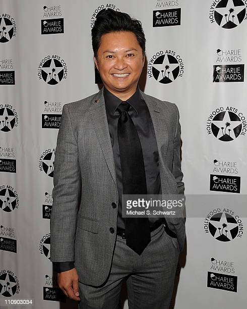 Actor Alec Mapa poses during the Hollywood Arts Council's 25th Annual Charlie Awards Luncheon at The Roosevelt Hotel on March 25 2011 in Hollywood...