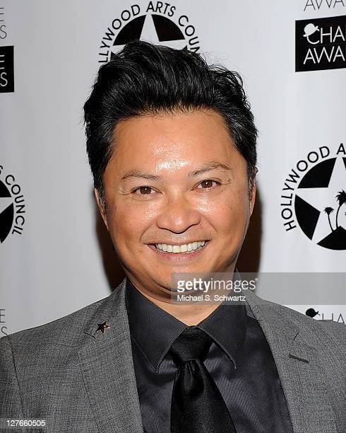 Actor Alec Mapa poses during the Hollywood Arts Council's 25th Annual Charlie Awards Luncheon during the Hollywood Arts Council's 25th Annual Charlie...