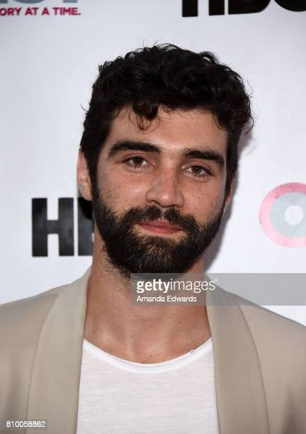 Actor Alec Secareanu arrives at the 2017 Outfest Los Angeles LGBT Film Festival Opening Night Gala of 'God's Own Country' at the Orpheum Theatre on...