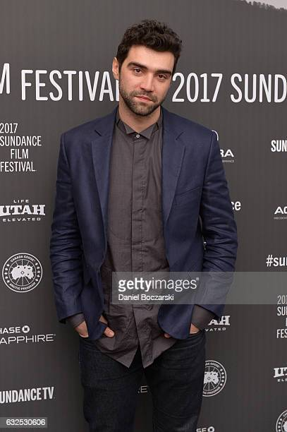 Actor Alec Secareanu attends the 'God's Own Country' Premiere at The Marc Theatre on January 23 2017 in Park City Utah