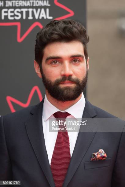 Actor Alec Secareanu attends the UK premiere of 'God's Own Country' and opening gala of the 71th Edinburgh International Film Festival at Edinburgh...
