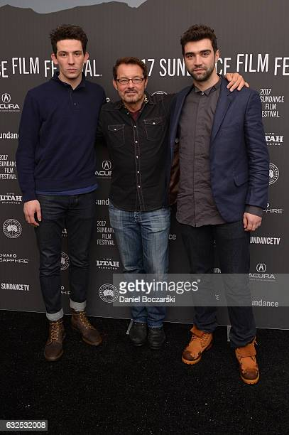 Actor Alec Secareanu Sundance Film Festival Senior Programmer David Courier and actor Josh O'Connor attend the 'God's Own Country' Premiere at The...