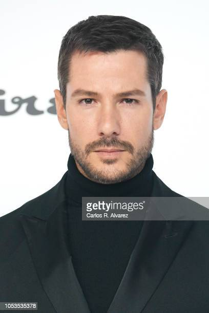 Actor Alejandro Albarracin attends Esquire 'Men of the Year' awards 2018 at the Instante Foundation on October 25 2018 in Madrid Spain