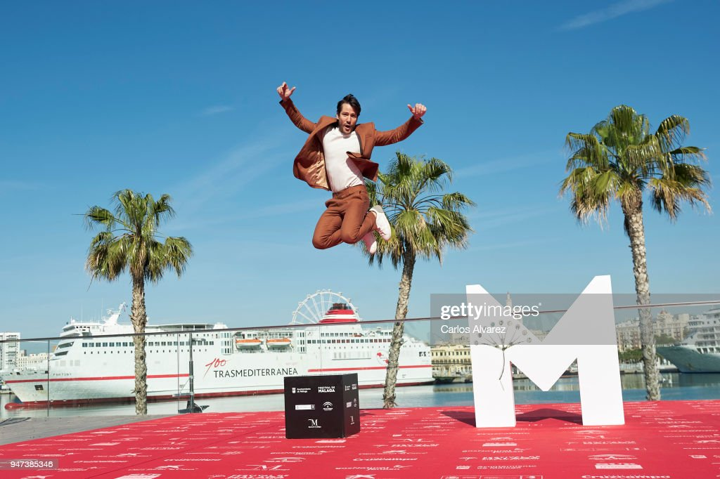 Actor Alejandro Albarracin attends 'Mi Querida Cofradia' photocall during the 21th Malaga Film Festival on April 17, 2018 in Malaga, Spain.