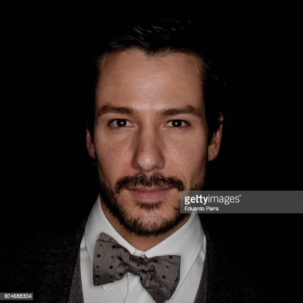 Actor Alejandro Albarracin attends the 'Fotogramas de Plata' awards at Joy Slava disco on February 26 2018 in Madrid Spain