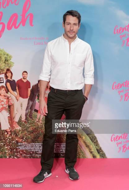 Actor Alejandro Albarracin attends the 'Gente que viene y bah' premiere at Capitol cinema on January 16 2019 in Madrid Spain