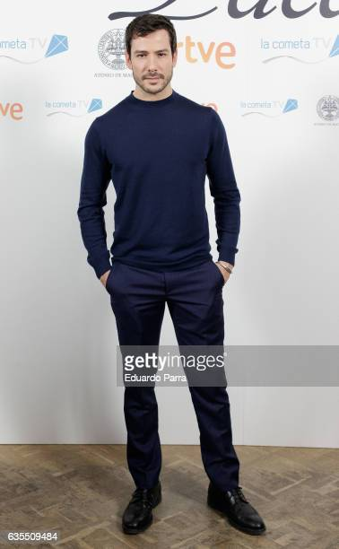 Actor Alejandro Albarracin attends the 'La Princesa Paca' photocall at Ateneo on February 15 2017 in Madrid Spain