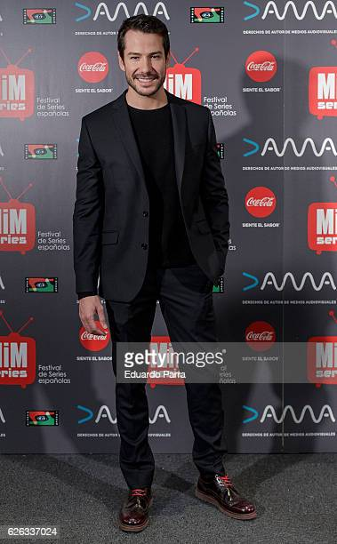 Actor Alejandro Albarracin attends the 'MIM awards' photocall at ME hotel on November 28 2016 in Madrid Spain