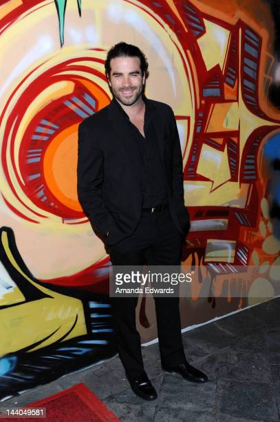 Actor Alejandro Nones arrives at the Wines By Wives Launch Party For Celebrity Wine Of The Month Club at Lexington Social House on May 8 2012 in...