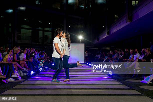 Actor Alejandro Tous and actress Ruth Nunez attend 'By Nerea Garmendia' 2nd anniversary catwalk at COAM on June 6 2016 in Madrid Spain