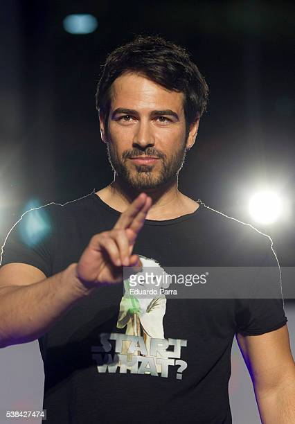 Actor Alejandro Tous attends 'By Nerea Garmendia' 2nd anniversary catwalk at COAM on June 6 2016 in Madrid Spain