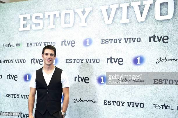 Actor Alejo Sauras attends 'Estoy Vivo' photocall at Palacio de Congresos Europa during the FesTVal 2018 on September 4 2018 in VitoriaGasteiz Spain