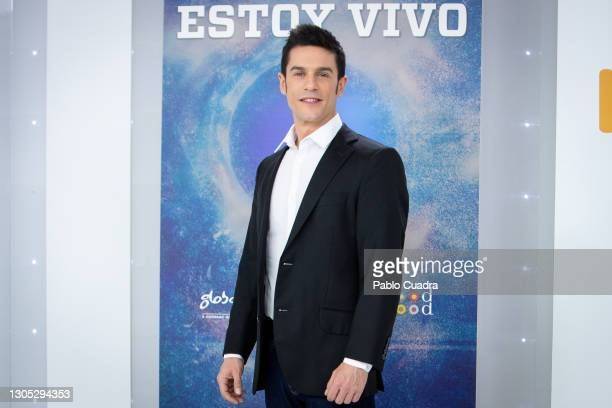 Actor Alejo Sauras attends 'Estoy Vivo' photocall at RTVE on March 04, 2021 in Madrid, Spain.