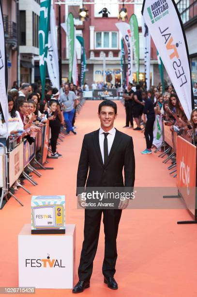 Actor Alejo Sauras attends 'Estoy Vivo' premiere at the Principal Teather during the FesTVal 2018 on September 4 2018 in VitoriaGasteiz Spain