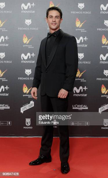 Actor Alejo Sauras attends Feroz Awards 2018 at Magarinos Complex on January 22 2018 in Madrid Spain