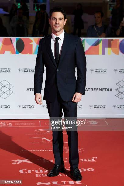 Actor Alejo Sauras attends 'Malaga Sur' 2019 award at the Cervantes Theater on March 17 2019 in Malaga Spain