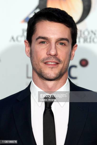 Actor Alejo Sauras attends the 28th Union de Actores awards photocall at Circo Price on March 11 2019 in Madrid Spain