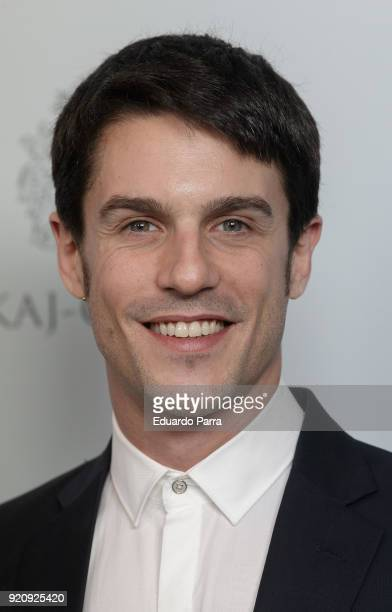 Actor Alejo Sauras attends the 'Fotogramas de Plata' awards candidates dinner photocall at Santo Mauro hotel on February 19 2018 in Madrid Spain