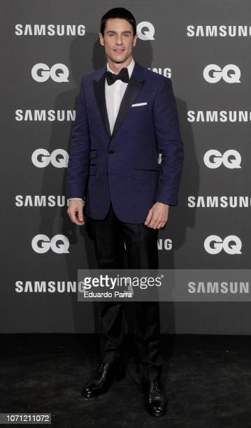 Actor Alejo Sauras attends the 'GQ Men of the Year' awards photocall at Palace hotel on November 22 2018 in Madrid Spain