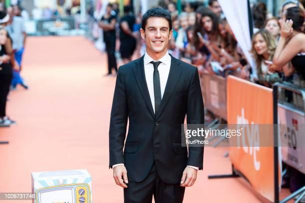 Actor Alejo Sauras attends to orange carpet of 'Estoy Vivo' during FestVal in Vitoria Spain September 04 2018
