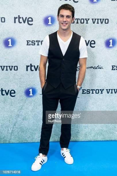 Actor Alejo Sauras attends to presentation of 'Estoy Vivo' during FestVal in Vitoria Spain September 04 2018