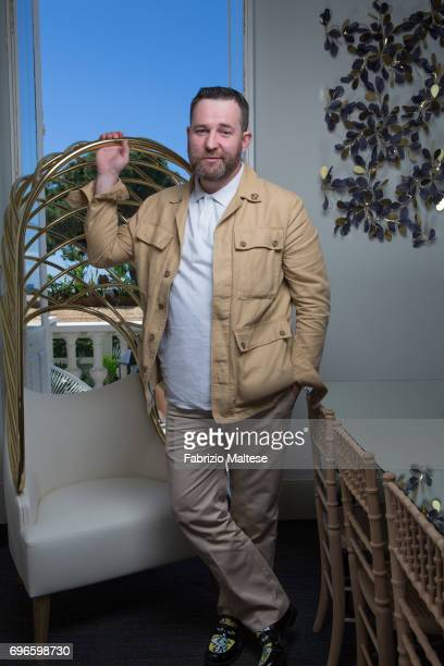 Actor Aleksey Rozin is photographed for the Hollywood Reporter on May 19 2017 in Cannes France