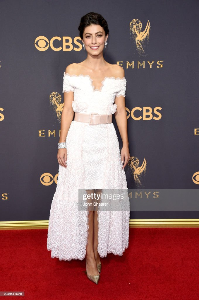 Actor Alessandra Mastronardi attends the 69th Annual Primetime Emmy Awards at Microsoft Theater on September 17, 2017 in Los Angeles, California.
