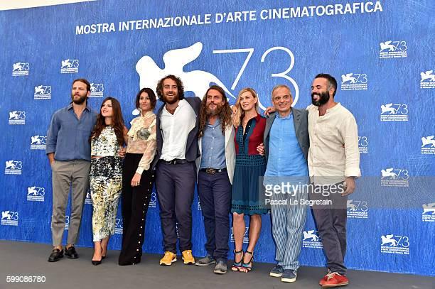 Actor Alessandro Borghi actress Ivana Lotito actress Ginevra De Carolis director Michele Vannucci actor Mirko Frezza actress Milena Mancini actor...