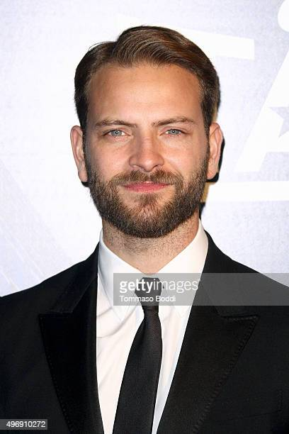 Actor Alessandro Borghi attends the 11th Cinema Italian Style opening night screening of Don't Be Bad held at the Egyptian Theatre on November 12...