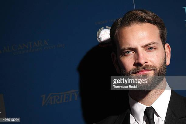 """Actor Alessandro Borghi attends the 11th Cinema Italian Style opening night screening of """"Don't Be Bad"""" held at the Egyptian Theatre on November 12,..."""