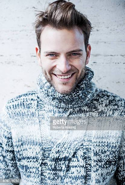Actor Alessandro Borghi is photographed for Self Assignment on October 05 2014 in Milan Italy