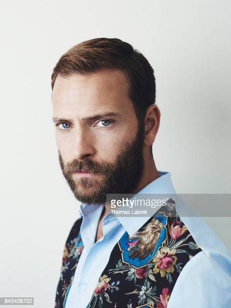 Actor Alessandro Borghi is photographed for Self Assignment on September 1 2017 in Venice Italy