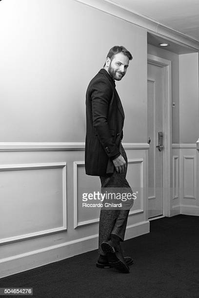 Actor Alessandro Borghi is photographed for Self Assignment on November 11, 2015 in Los Angeles, United States.