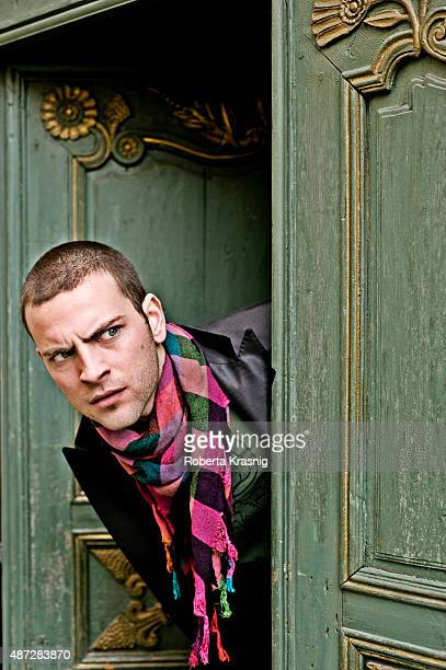 Actor Alessandro Borghi is photographed for Self Assignment on August 19 2015 in Rome Italy