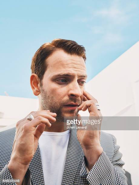 Actor Alessandro Borghi is photographed for Self Assignment on May 21 2017 in Cannes France