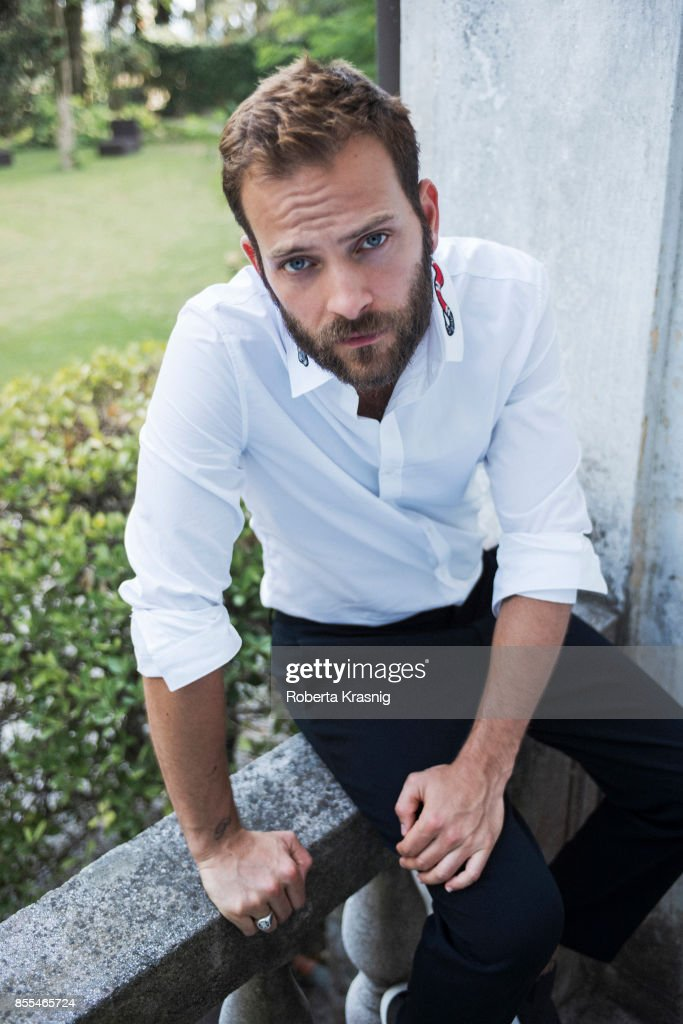 Actor Alessandro Borghi is photographed on August 31, 2017 in Venice, Italy.