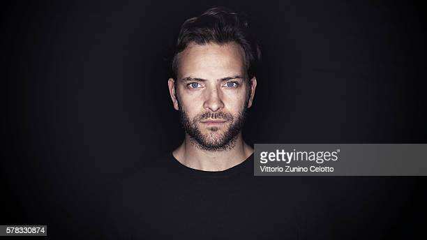 Actor Alessandro Borghi poses on July 15 2016 in Giffoni Valle Piana Italy