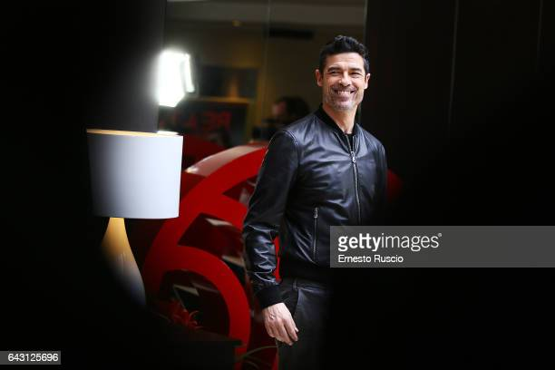 Actor Alessandro Gassmann attends a photocall for 'Beata Ignoranza' at NH Hotel on February 20 2017 in Rome Italy