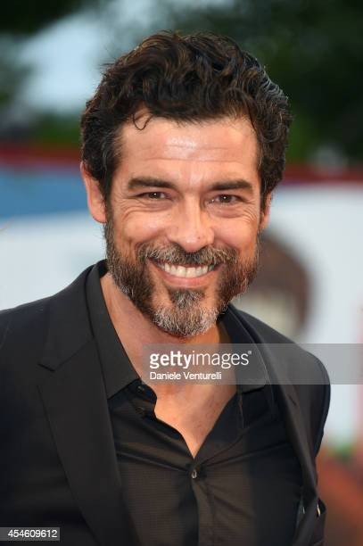 Actor Alessandro Gassmann attends 'I Nostri Ragazzi' Premiere during the 71st Venice Film Festival at Sala Perla on September 4 2014 in Venice Italy