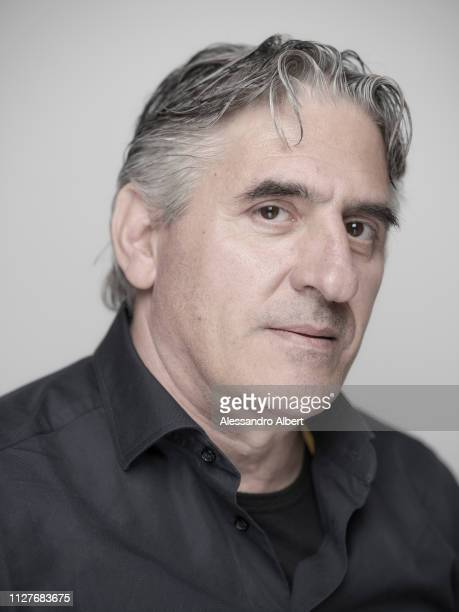 Actor Alessandro Gazale poses for a portrait Turin Film Festival on November 2018 in Turin Italy