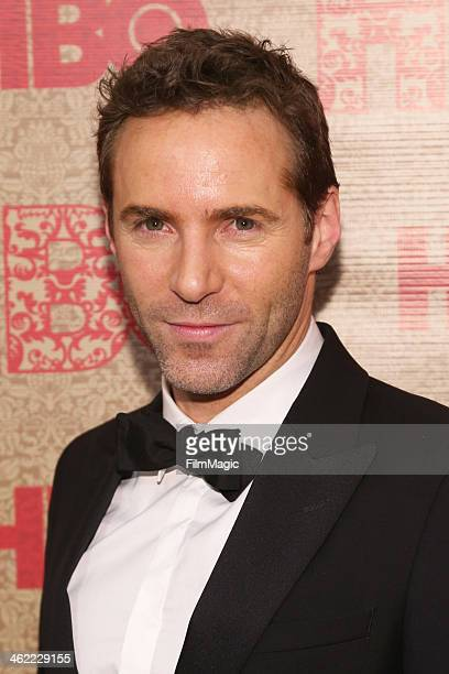 Actor Alessandro Nivola attends HBO's Official Golden Globe Awards After Party at The Beverly Hilton Hotel on January 12 2014 in Beverly Hills...