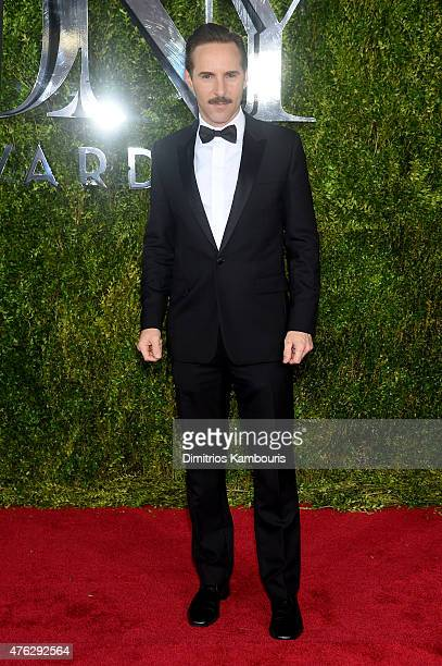 Actor Alessandro Nivola attends the 2015 Tony Awards at Radio City Music Hall on June 7 2015 in New York City