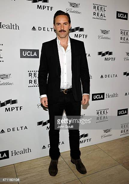 Actor Alessandro Nivola attends the 4th Annual Reel Stories Real Lives benefiting the Motion Picture Television Fund at Milk Studios on April 25 2015...